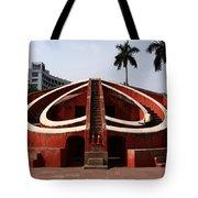 Jantar Mantar - New Delhi - India Tote Bag