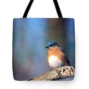 January Bluebird Tote Bag