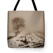 January Fog Tote Bag