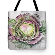 January King Cabbage  Tote Bag