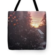 January Sunrise From Civill Avenue Tote Bag
