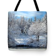 January Trees Tote Bag