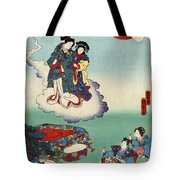 Japan: Tale Of Genji Tote Bag