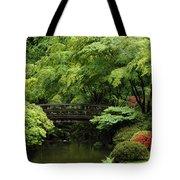 Japanes Garden Reverie Portland Oregon Tote Bag