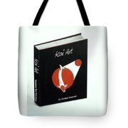 Japanese Book Of Koi Paintings By Gordon Lavender Tote Bag