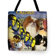Japanese Chin Art - Julius Caesar Movie Poster Tote Bag