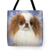 Japanese Chin Dog Tote Bag by John Daniels