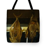 Japanese Fish And Seafood Dried Decoration Tote Bag