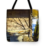Japanese Fountain Tote Bag