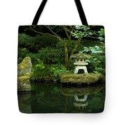 Japanese Garden Calmness Tote Bag