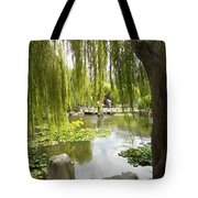 Japanese Garden Tote Bag