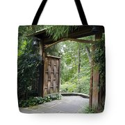 Japanese Garden Gate  Tote Bag