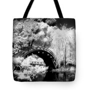 Japanese Gardens And Bridge Tote Bag
