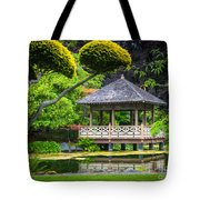 Japanese Gazebo Tote Bag
