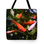 Japanese Koi Fish Tote Bag