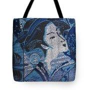 Japanese Lady Tote Bag