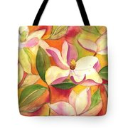 Japanese Magnolia Tote Bag