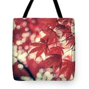 Japanese Maple Leaves - Vintage Tote Bag