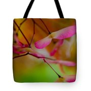 Japanese Maple Seedling Tote Bag