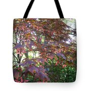 Japanese Maple Spring Tote Bag