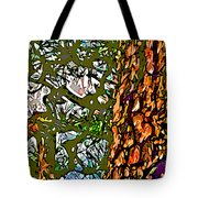 Japanese Pine Tote Bag by Jean Hall