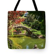 Japanese Spring - The Japanese Garden Of The Huntington Library. Tote Bag
