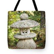 Japanese Stone Lantern Tote Bag