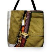 Japanese Sword Ww II Tote Bag by Thomas Woolworth