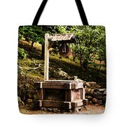 Japanese Tea Garden Well Tote Bag