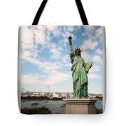 Japan's Statue Of Liberty Tote Bag