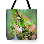 Japonica In Autumn Tote Bag