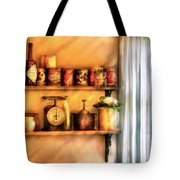 Jars - Kitchen Shelves Tote Bag