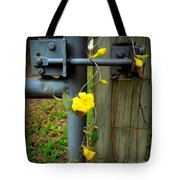 Jasmine Flowers On Gate Latch Tote Bag