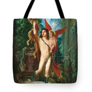 Jason And Eros Tote Bag by Gustave Moreau
