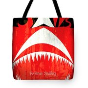 Jaws Minimalist Poster  Tote Bag