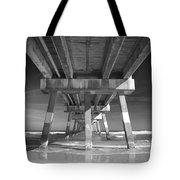 Jax Beach Pier Tote Bag