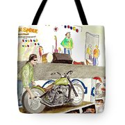 Jay Allen At The Broken Spoke Saloon Tote Bag