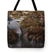 Jay Drinking Water Tote Bag