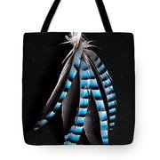 Jay Feather 2 Without Text Tote Bag