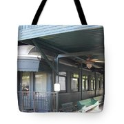 Jay Gould Private Rr Car Tote Bag