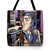 Jay Leno You Been Cubed Tote Bag