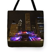 Jay Pritzker Pavilion Chicago Tote Bag