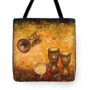 Jazz ... Tote Bag by Draia Coralia
