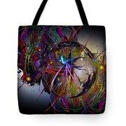 Jazz Age Spiral Tote Bag