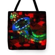 Jazz At Midnight Tote Bag