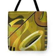 Jazz Tote Bag by Carolyn Hubbard-Ford