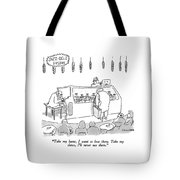 Jazz-deli Fusion Take My Hams Tote Bag