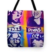 Jazz Divas  Tote Bag