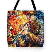 Jazz Feel Tote Bag