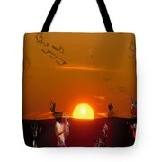 Jazz Fest Tote Bag